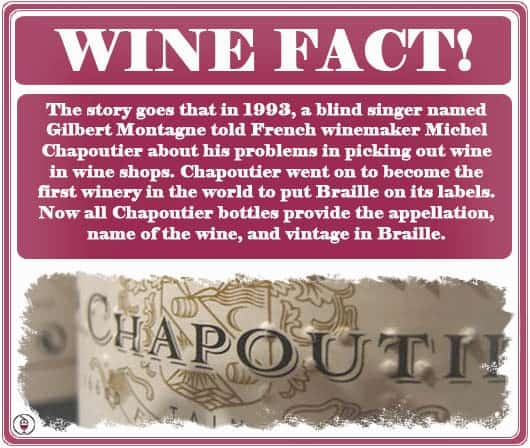 WINE FACT - Chapoutier Braille