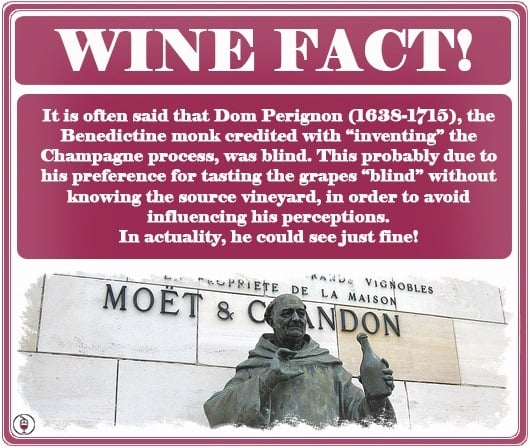 WINE FACT - Dom Perignon