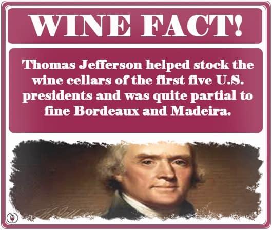 WINE FACT Thomas Jefferson
