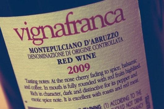 Barba-Vignafranca-Montepulciano-Abruzzo....