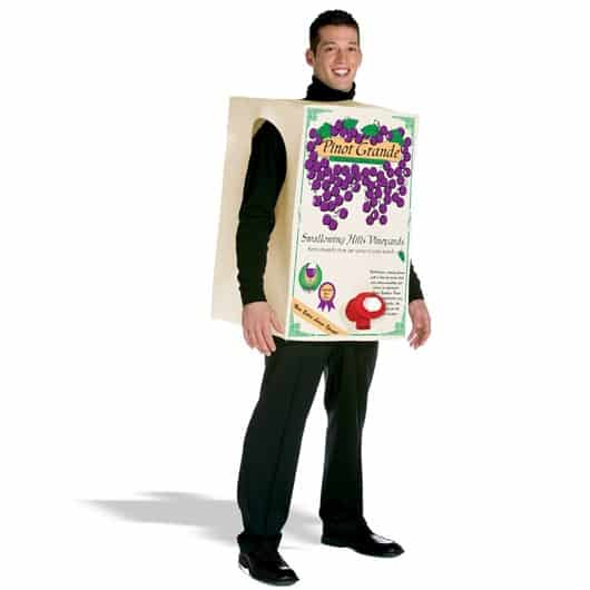 Halloween Wine Box Costume