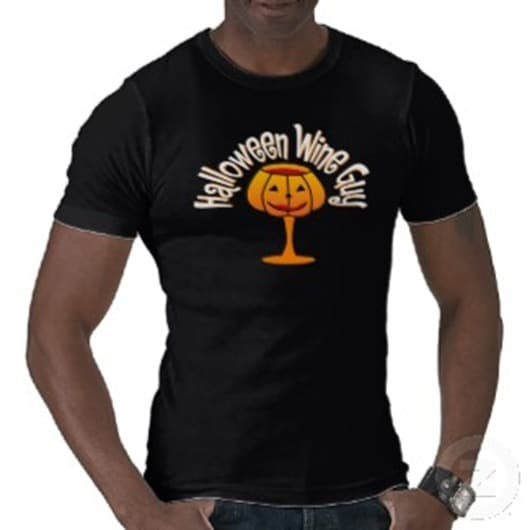 Halloween Wine Guy Shirt