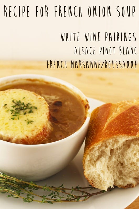 Recipe for French Onion Soup