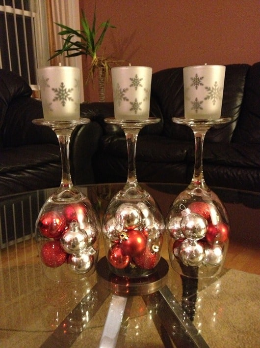 14 Of The Best Diy Wine Christmas Decoration Projects