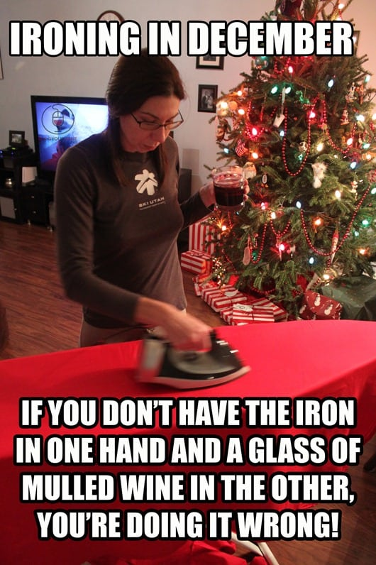 How to Iron.