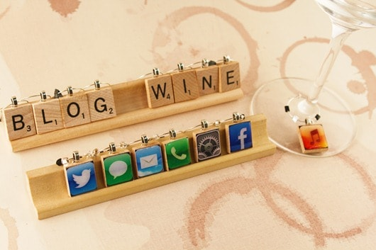 Win a Set of Wine Charms.