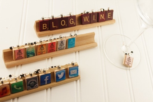 Win a Set of EssenTiles Wine Charms!