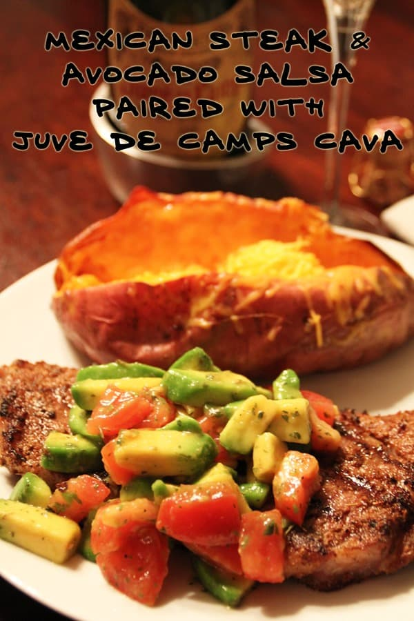 Mexican-Steak-and-Avocado-Salsa-Paired-with-Juve-de-Camps-Cava